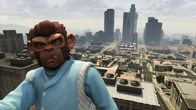 gta V monkey mask